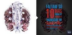 """Art. Ilustração para marca Taco  """" Rock In Rio """" 2013 ."""
