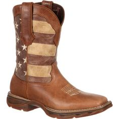 Lady Rebel by Durango Faded Rebel Flag Western Boot