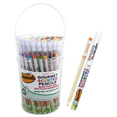 Smencils and Smens!!  with YOUR Logo from www.schoolspirits...