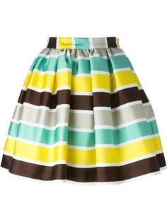 Msgm Striped Skirt - Anita Hass - Farfetch.com