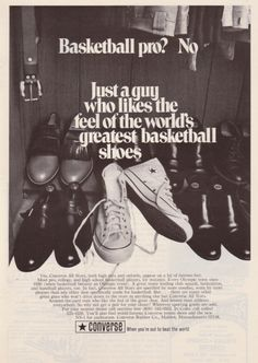 bad1a823ef77 The All-Star Phenomenon – 25 Vintage Converse All Star Ads. Converse Chuck  Taylor ...
