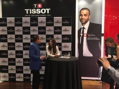 Danica attends the #TissotTimeOut Twitter Q&A for fans, 11/4/15. Photo credit to @Tissot via Twitter