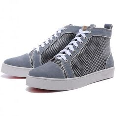 159159d10fd0 Cheap Christian Louboutin Outlet Mans Ablazely Sneakers Grey. Suede  Sneakers