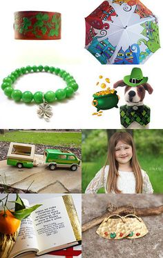 Lucky green by Kate on Etsy--Pinned with TreasuryPin.com