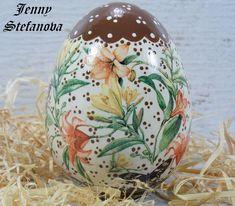 Decoupage by Jenny Stefanova Decoupage, Christmas Bulbs, Eggs, Holiday Decor, Home Decor, Decoration Home, Christmas Light Bulbs, Room Decor, Egg