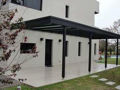 Resultado de imagen para techo de policarbonato techos for Cobertizos prefabricados metalicos