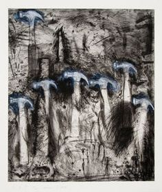 Jim Dine, 'Seven White Hammers,' 2008, Alan Cristea Gallery