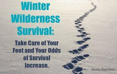 Exposure to the cold can have profound effects on your chances of survival. Immersion foot or Trench foot is a major concern when trying to survive exposure. Don't get caught outside without knowin...