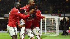 Football: Old boy Young downs Watford to lift Man Utd