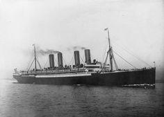 Die Kaiser Wilhelm der Große im Atlantik