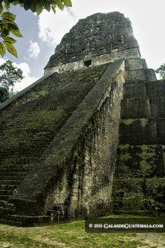 Templo V, Parque Nacional Tikal