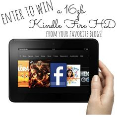 Are you on Pinterest and Instagram? Follow these awesome bloggers for a chance to win a Kindle Fire HD!