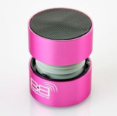 BassBoomz High Performance Portable Bluetooth Speaker  Pink -- Learn more by visiting the image link.