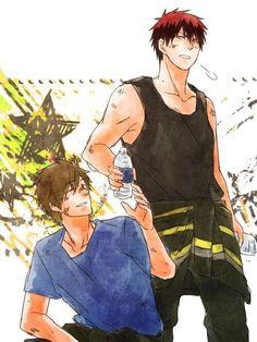 KnB x Free! (Makoto & Kagami)