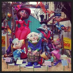 Arte por cada rincón!!  #fallas #falles #fallas2013 #beauty #beautiful…