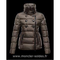 Doudoune Moncler Daim Femme Dark Green Cheap Coats, Down Coat, Collection, Online  Sales 22103bde662