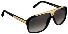 louis vuitton frames | Louis Vuitton Acetate Frame Evidence Gold Sunglasses* | Self Trading ...