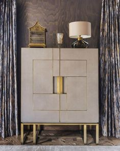 FRATO INTERIORS: Every corner at Villa Kontor is a delight to discover! Here with our own Piémont . Rack Design, Shelf Design, Modern Furniture, Furniture Design, Drinks Cabinet, Cabinet Furniture, Decoration, Living Room Decor, Contemporary