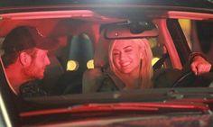 Gwen Stefani beams as she takes boyfriend Blake Shelton on a ride