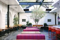 Redbird is the perfect private dining space in Los Angeles, this former cathedral has timeless architecture and an elegant atmosphere for gatherings.