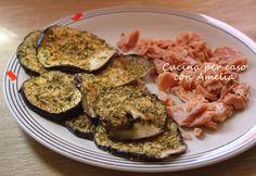 Melanzane al forno, ricetta contorno http://blog.giallozafferano.it/cucinaconamelia/melanzane-al-forno-ricetta-contorno/