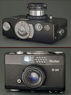 Rollei B35 - 1969, budget Rollei pocketable camera (at the same time as the premium Rollei 35 S)