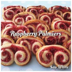 How to make Raspberry Palmiers
