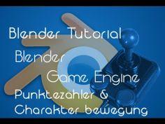 Blender Game Engine - Punktezähler & Charakter