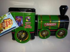 ARNOTT'S TINY TEDDY BISCUITS TRAIN TIN AR4012A (SEALED WITH TAGS)