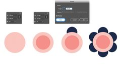 How to use The Rotate Tool in Adobe Illustrator to make vector art