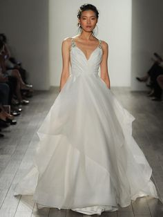 Dare gown by Hayley Paige.   Wedding Dress. #Justgotpaiged #JLMCouture