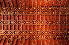 Castillo de Belmonte  #Cuenca - Artesonado