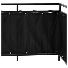 DYNING Insynsskydd för balkong - svart - IKEA