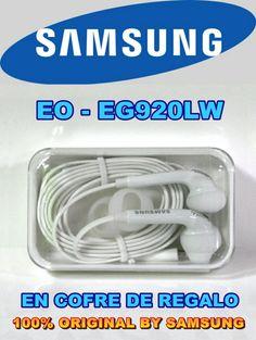Auriculares SAMSUNG EO-EG920LW ORIGINAL para Galaxy S6-S7-NOTE-5