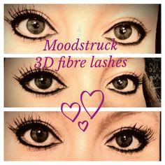 Moodstruck 3D fibre mascara by Younique.  #moodstruck #3dFiber #lashes  http://juliesyouniquelashes.com/