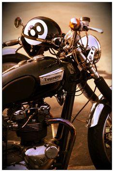 Triumph + 8 ball helmet #motorcycle #motorbike