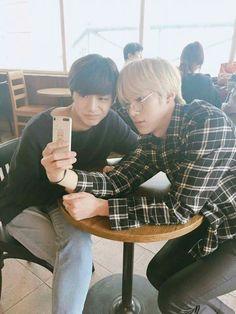 Hyungwon & Minhyuk on a date
