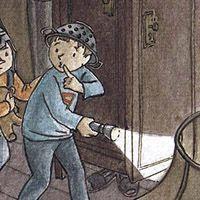 """Flavia Gargiulo - Ilustraciones  Portada para la revista infantil Esquitx. """"No todos los dragones echan humo ... """""""