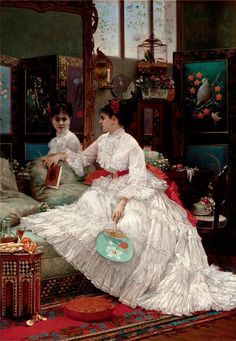 French artist Jules Emile Saintin (1829-1894). Discussion on LiveInternet - Russian Service Online diary