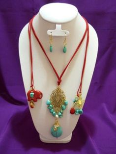Beaded Bags, Beaded Jewelry, Handmade Jewelry, Jewelry Necklaces, Salmon Color, Turquoise Jewelry, Boho, Jewelery, Chokers