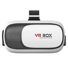 """CNPGD VR Box 3D Glasses [U.S. Office Extended Warranty] Virtual Reality Headset for Iphone Samsung and all 4.7"""" to 6"""" Cell Phones. Exclusive for CNPGD® with LOGO on item. Use high quality ABS and 42mm diameter spherical resin lens material without stimulation plastic sheet, environmental, high quality, lowering down the distortion to the minimum when magnifying the images and providing wider view; You will not feel visual fatigue and dizzy even you use it for a long time because of the…"""