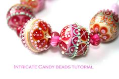 Candy Beads - Lampwork Tutorial by JustMade / Suzanne Noordewier