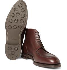 John Lobb Chambord II Leather Boots.