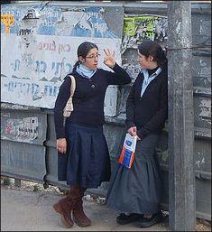 Orthodox Jewish, Jewish Girl, La Dispute, Jewish History, Human Condition, Feminine Dress, Modest Outfits, Old World, Religion