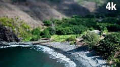 Stock Footage |Hawaii Bay Tiltshift | License and download using the VidLib iOS app with over 100.000 Royalty Free Clips