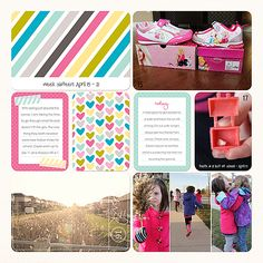 Sheri Mae Designs: project life 2013 | week sixteen