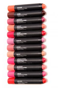 Must get kittenish!   MAC Patentpolish Lip Pencils (not much of a MAC girl but these are way intriguing)