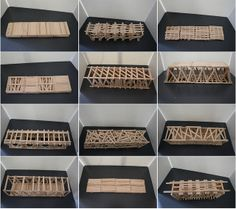 Popsicle Stick bridges: a great learning activity for older and younger kids. Popsicle Bridge, Popsicle Stick Bridges, Popsicle Stick Crafts, Popsicle Sticks, Craft Stick Crafts, Engineering Projects, Stem Projects, Science Projects, School Projects