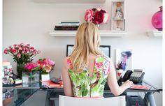 Inside Lauren Berg's office, Managing Director at Skirt PR