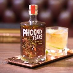 Phoenix Tears Spiced Rum (£43) ❤ liked on Polyvore featuring home and kitchen & dining